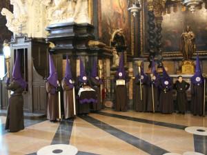 Capítulo General Extraordinario. Elección de Hermano Mayor @ MM Nazarenas, junto a la iglesia de San Juan de los Panetes. | Zaragoza | Aragón | España