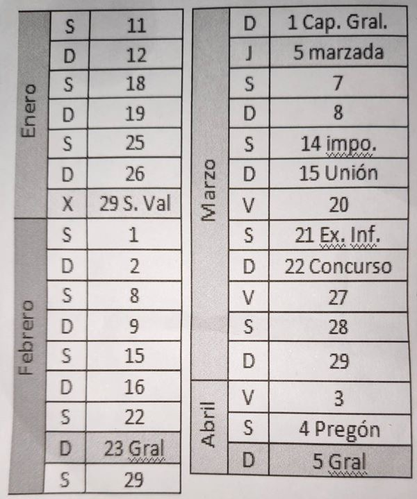 Ensayo de Instrumentos @ Lugar de ensayo habitual | Zaragoza | Aragón | España