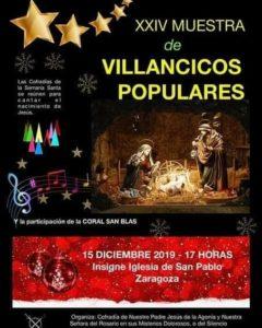 XXIV Muestra de Villancicos Populares. Domingo 15 de Diciembre